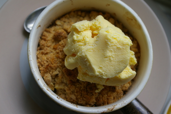 Pear & Aztec Fruit Crumble