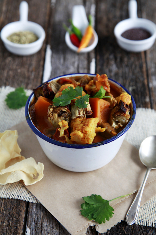 Eggplant & Vegetable Curry