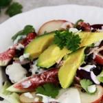 A Simple Autumn Salad